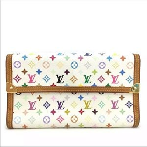 Louis Vuitton Monogram Multicolor Porte Tresor Int